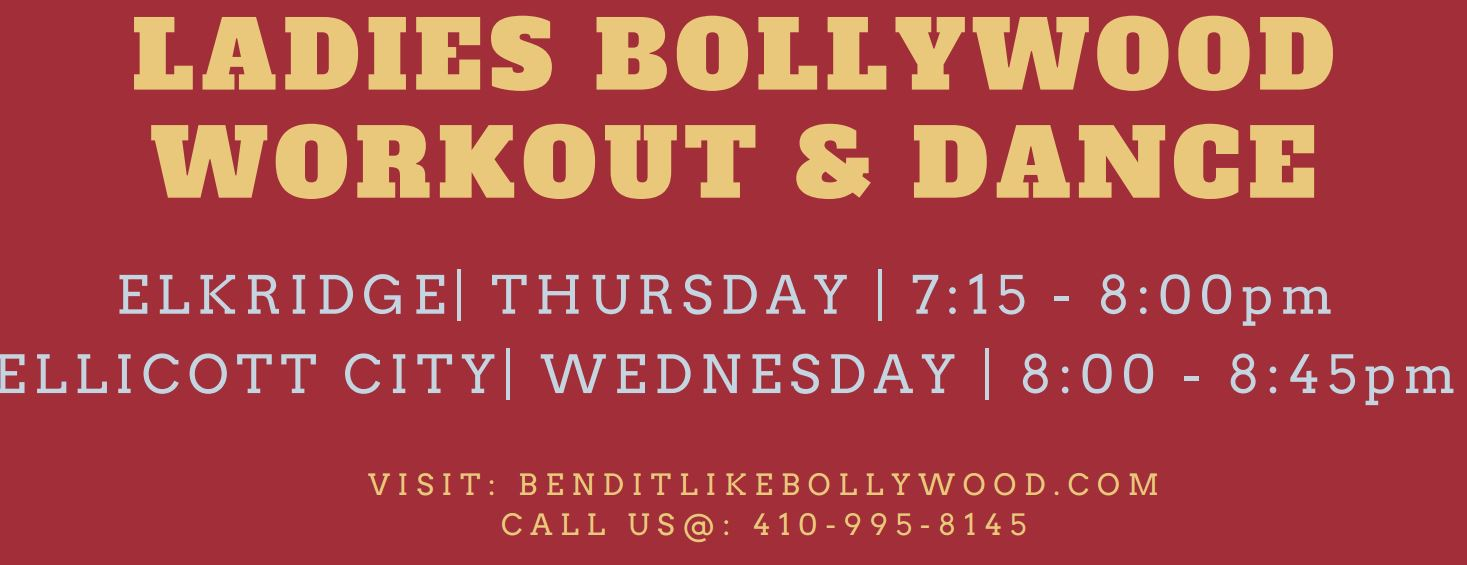 Ladies Bollywood Workout and Dance