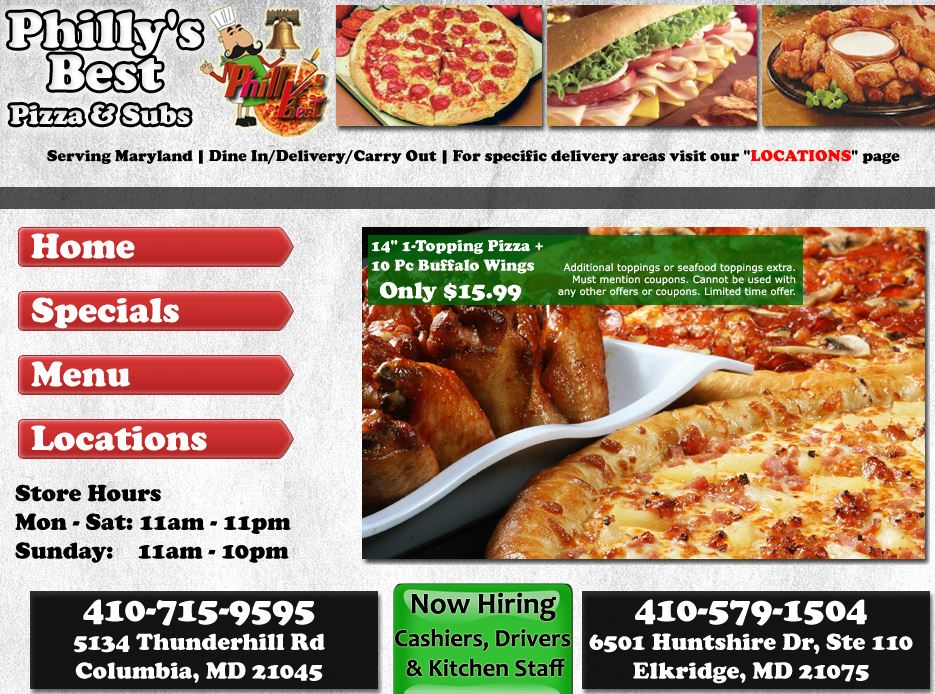 Philly\'s Best Pizza and Sub